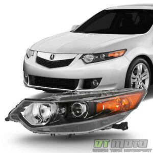 hid Type 2009 2014 Acura Tsx Headlight Headlamp Replacement Left Driver Side