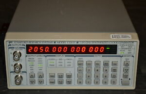 Stanford Research Cg635 Synthesized Clock Generator 1uhz 2 05ghz Tested Good