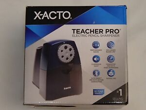 X acto Teacherpro Classroom Electric Pencil Sharpener Blue