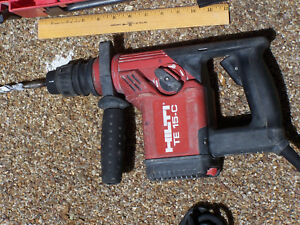 Hilti Te 15 c Rotary Hammer Drill Breaker W Case And Assorted Bits