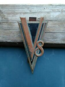 1937 Cadillac Or Lasalle Grill Emblem 37 Grille