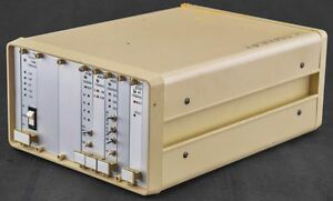 Lep Ludl 8 slot Microscope Filter Wheel shutter Controller Box Chassis Unit