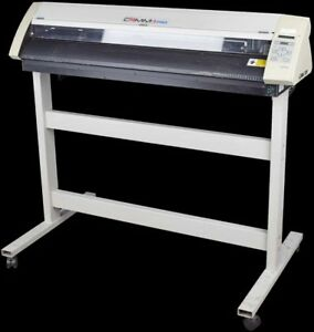 Roland Pnc 1410 Camm 1 Pro Parallel serial Sign Maker Vinyl Cutter W Stand