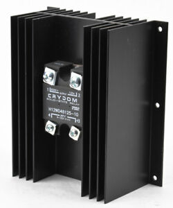 Crydom H12wd48125 10 H12wd Series 660vac 125a Panel Mount Ssr Solid State Relay
