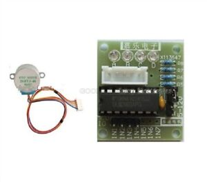 10pcs 5v Stepper Motor 28byj 48 With Drive Test Board Uln2003 5 Line 4 Phase O