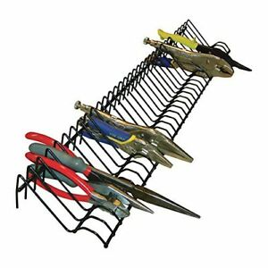 Rack Organizer Storage Pliers Tool Drawer Holder Box Tray Garage Metal Heavy New