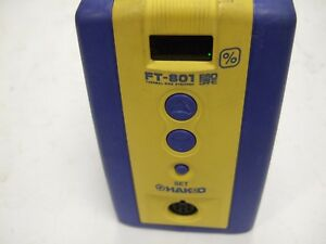 Hakko Soldering Station Ft 801 Thermal Wire Stripper Station Powers On Unit Only