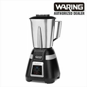 Waring Bb320s Stainless Steel Jar Bar Blender Restaurant Commercial Drink Mixer