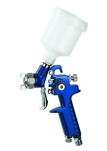 Mini Hvlp Air Paint Spray Gun Auto Car Detail Touch Up Air Brush Gravity Repair