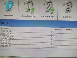 Cerec Sw 4 5 Inlab 4 2 5 Software With License Dongle