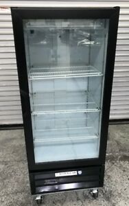 24 1 Glass Door Merchandiser Refrigerator Cooler Beverage Air Lv10 1 b 8554