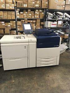 Xerox Versant 80 Digital Color Press Fiery Exi80 Oversize Lct J75 C75 770 700