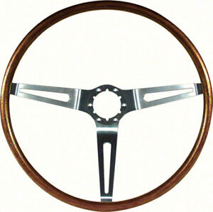 Oer 9746195 1967 1968 Camaro Nova Impala Simulated Walnut Wood Steering Wheel