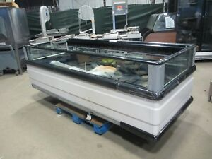 2017 Hussmann Fng 8 Coffin Freezer W Glass Refrigerated Case Remote Grocery