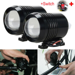 2 X30w Motorcycle Cree U2 Led Driving Headlight Fog Lamp Spot Light For Bmw Sw