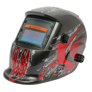 Auto Darkening Solar Welding Helmet Mask Lens Uv ir Filter Shade Blk