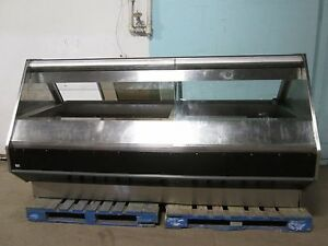 barker Heavy Duty Commercial Heated Lighted Hot Food Merchandiser Display Case