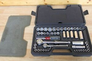 Husky Socket Ratchet Tool Set 51 Pieces With Case