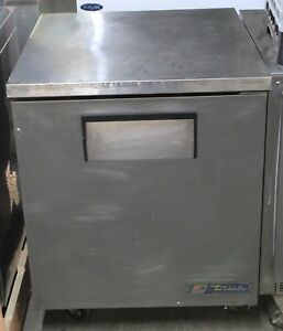 True Single Door Refrigerator Undercounter