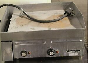 24 Star Flat Top Grill 220 Electric