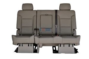 2016 2015 Suburban 2nd Row Bench Seat In Cocoa Dune Tan Leather