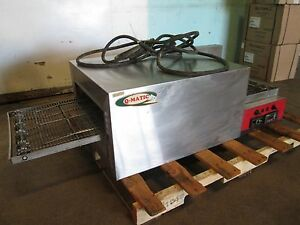 q matic Commercial H d 1ph Electric Conveyor Pizza Oven W digital Controls