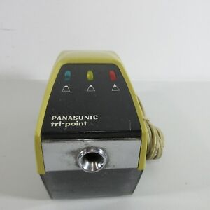 Vintage Panasonic Pencil Sharpener Kp 11a Tri Point Tested Working
