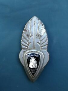1934 1935 1936 Plymouth Trunk Emblem 34 35 36