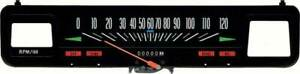 Oer 6496617 1969 1975 Chevrolet Nova Speedometer For Cars With Console Gauges