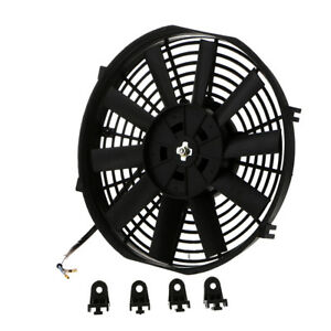 10 Inch Universal Car Motorcycle Electric Radiator Cooling Fan 80w 12v