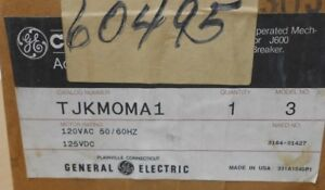1 Nib Ge General Electric Tjkmoma1 Circuit Breaker Operating Mechanism 5 5a 120v