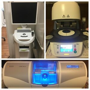2015 Cerec Milling Unit omnicam And Oven dental Equipment
