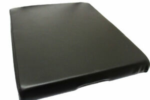 Fits 04 14 Nissan Titan Black Leather Synthetic Center Console Lid Armrest Cover