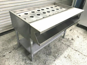 48 3 Well Water Bath Electric Steam Table W Under Shelf Eagle Wt3240 8583 Nsf
