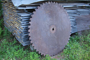 Large Sawmill Buzz Saw Blade 52 50 Teeth Diameter Solid Sawblade