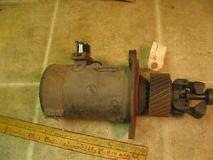 Vintage Delco Remy 939h Gear Driven Generator Governor Buda Engine