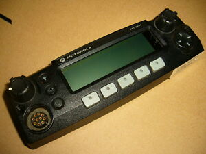 Used Motorola Xtl2500 Chib M5 Remote Control Head Multiply Items Available