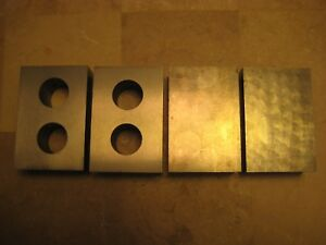 4 Machinist Tooling Gage Gauge Parallel Blocks 3 X 2 X 1