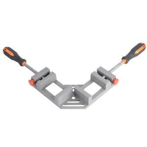Double Handles 90 Deg Right Angle Clips Woodworking Jigs Quick Corner Clamps