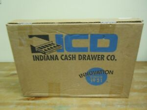 Icd Indiana Cash Drawer Co Tray With Keys Brand New