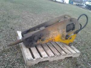 Jack Hammer Breaker Attachment For Excavator Backhoe
