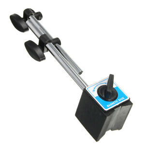 Mini Universal Magnetic Base Holder Stand For Dial Test Indicator Gauge Tool
