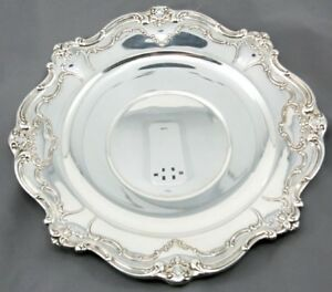 Gorham Chantilly Duchess Sandwich Plate Cookie Tray 746 Sterling Silver