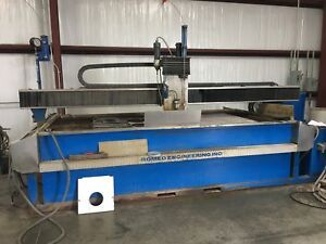 2010 Romeo Engineering Waterjet Cutting System 1804