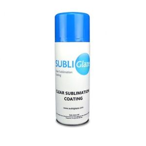 Subli Glaze Sublimation Spray Clear Coating For Ceramic Wood Metal Glass 400ml
