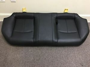 2012 Infiniti G37 Sedan Rear Seat Bottoms Seat Black Used