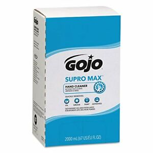 Gojo 7282 04 2000 Ml Supro Max Cherry Hand Cleaner Pro Tdx 2000 Refill case