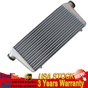 Auminum Intercooler 31 x12 x3 3 I o Fit For Mustang Escort Supra Celica