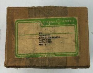 Ge Solenoid Cr9503206bab457 110v 60hz Pull Type brand New Unopened
