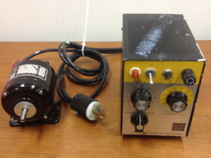 Bodine Electric Type Nsh 12rh Dc Motor Speed Control With Extended Range